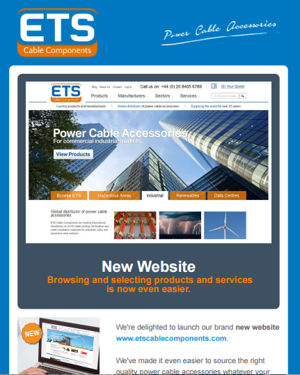 ETS News Website