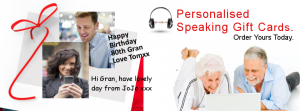 Personal Speaking Gift Cards