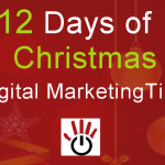 12 days of Christmas Digital Marketing Tips