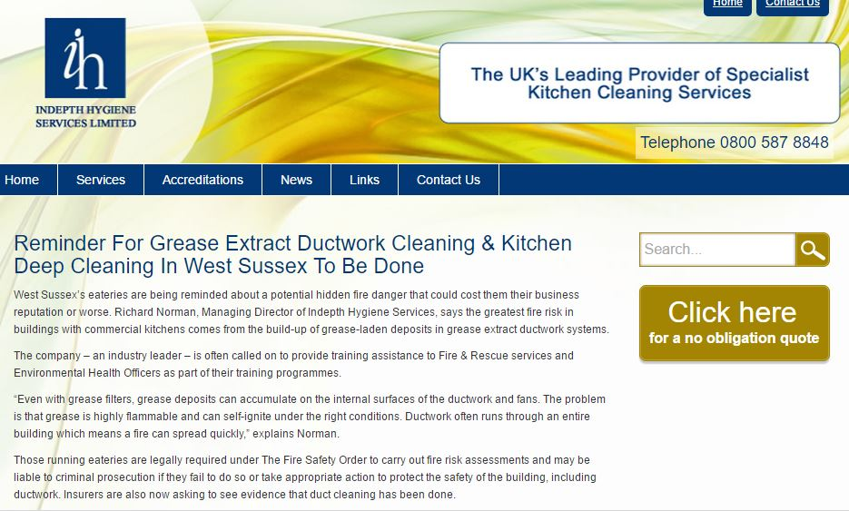 Commercial Kitchen Deep Cleanin
