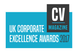 CV Magazine UK Corporate Excellence Award Winner for 2017 to Upper Hand Digital: Award Winning LinkedIN Training for SME's in Surrey