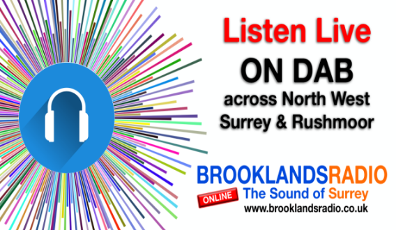Brooklands Radio DAB poster